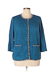Joan Rivers Women Cardigan Size 1X (Plus)