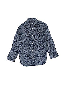 H&M L.O.G.G. Long Sleeve Button-Down Shirt Size 4