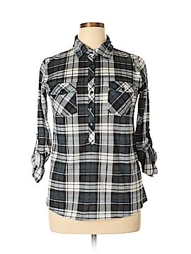 Love Potion Long Sleeve Button-Down Shirt Size L