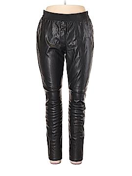 Ann Taylor Faux Leather Pants Size 16