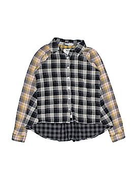 Ruum Long Sleeve Button-Down Shirt Size 10