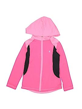 Champion Zip Up Hoodie Size S (Kids)