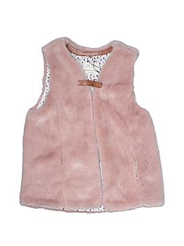 Zara Faux Fur Vest Size 11 - 12