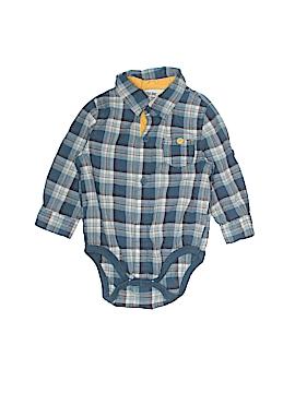 Genuine Baby From Osh Kosh Long Sleeve Onesie Size 6-9 mo
