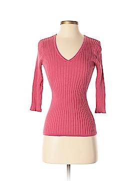 Alfani 3/4 Sleeve Silk Top Size S
