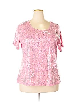 Joan Rivers Short Sleeve Top Size XL