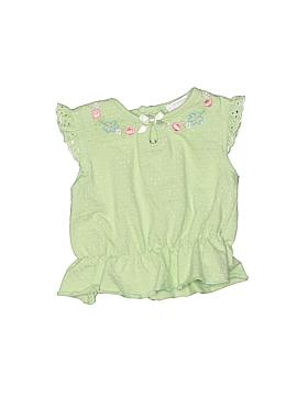 Arizona Jean Company Short Sleeve Blouse Size 0-3 mo