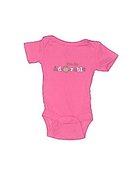 Small Wonders Short Sleeve Onesie Newborn