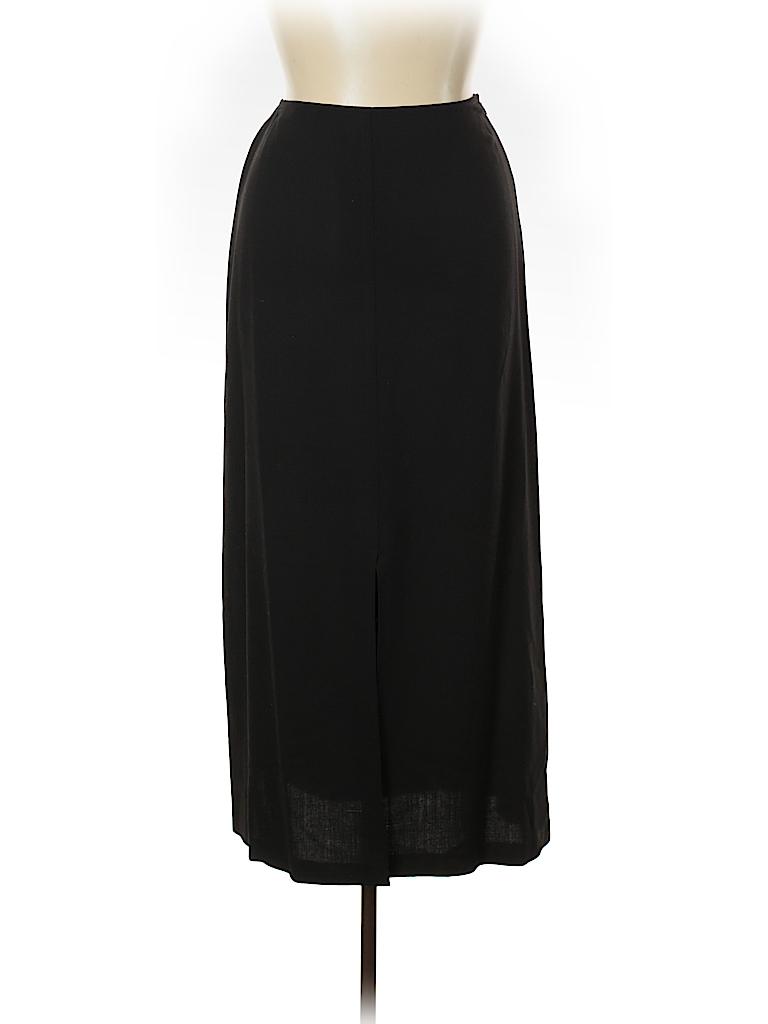 Linda Allard Ellen Tracy Women Wool Skirt Size 14