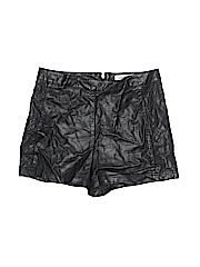 Charlotte Russe Women Faux Leather Shorts Size M