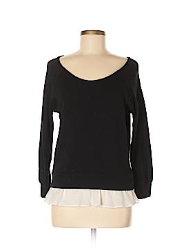 Velvet Long Sleeve Top Size S