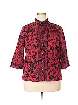 Alia 3/4 Sleeve Blouse Size 16 (Petite)