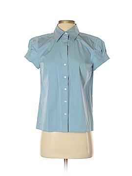 Ann Taylor Short Sleeve Button-Down Shirt Size 4