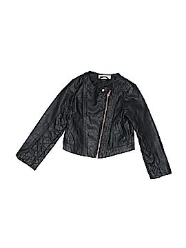 H&M Faux Leather Jacket Size 4 - 5