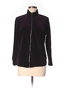 Karen Scott Sport Track Jacket Size M