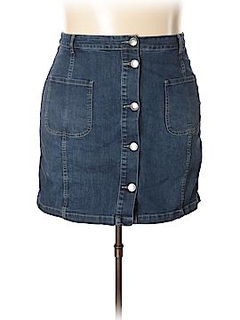 Eloquii Denim Skirt Size 18 (Plus)