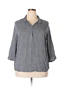 Ava Christine 3/4 Sleeve Blouse Size 1X (Plus)