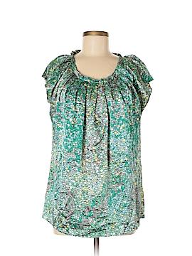 Spense Short Sleeve Blouse Size XL