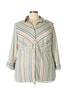 Emma James 3/4 Sleeve Blouse Size 22W (Plus)