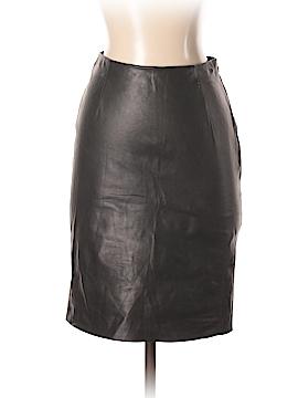 Raquel Allegra Leather Skirt Size XS (0)