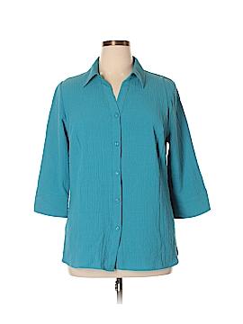 JM Collection 3/4 Sleeve Blouse Size 14