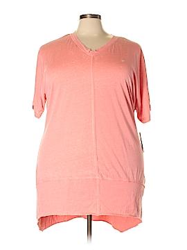 Melissa McCarthy Seven7 Short Sleeve Top Size 1X (Plus)