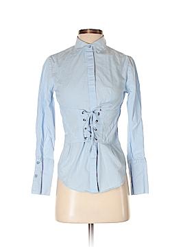 Dizzy Lizzy Long Sleeve Button-Down Shirt Size XS