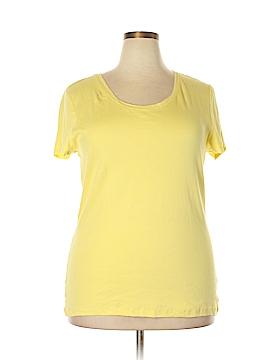 Nicole Miller Short Sleeve T-Shirt Size 3X (Plus)