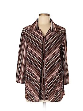 Covington Outlet 3/4 Sleeve Button-Down Shirt Size 20 - 22 (Plus)