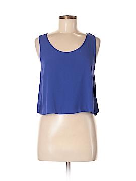 Aqua Sleeveless Blouse Size M