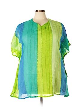 Rima Beachworld Short Sleeve Blouse One Size