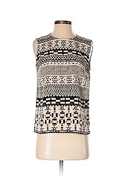 Worth New York Sleeveless Silk Top Size 2