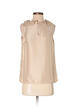 A.P.C. Sleeveless Silk Top Size S