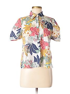 Trafaluc by Zara Short Sleeve Button-Down Shirt Size M