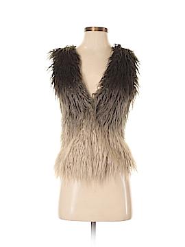 Jessica Simpson Faux Fur Vest Size XS