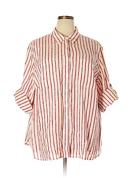 L-RL Lauren Active Ralph Lauren Long Sleeve Button-Down Shirt Size 3X (Plus)