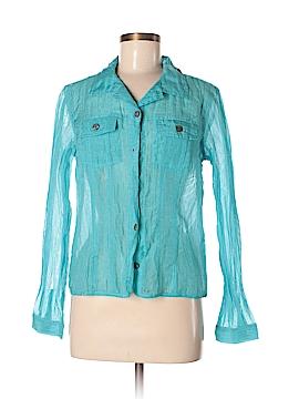 French Laundry Long Sleeve Blouse Size M