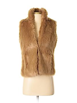 G by Giuliana Rancic Faux Fur Vest Size XXS
