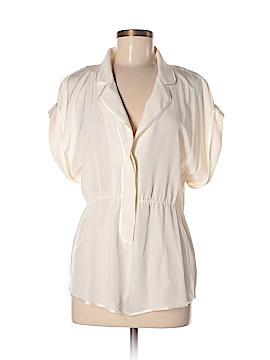 Madison Marcus Short Sleeve Silk Top Size M