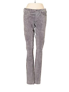 Joie Leather Pants 25 Waist