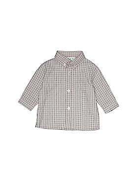 B.T. Kids Long Sleeve Button-Down Shirt Size 3-6 mo