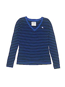 Abercrombie Long Sleeve T-Shirt Size X-Large (Youth)
