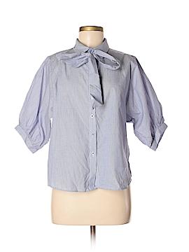 Jealous Tomato 3/4 Sleeve Button-Down Shirt Size M