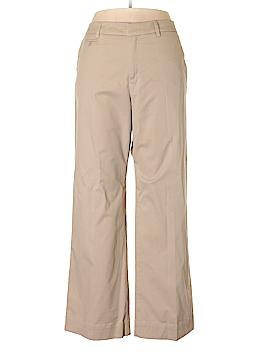Merona Khakis Size 18 (Plus)