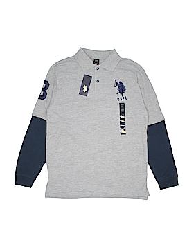 U.S. Polo Assn. Long Sleeve Polo Size 14 - 16