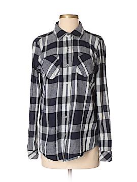 Ruff Hewn Long Sleeve Button-Down Shirt Size S