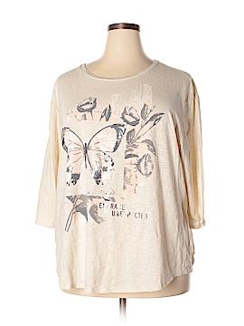 SONOMA life + style 3/4 Sleeve T-Shirt Size 3X (Plus)