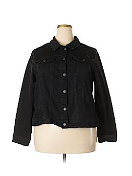 CB Denim Jacket Size 2X (Plus)