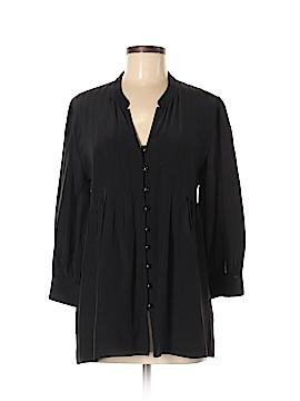 Shoshanna Long Sleeve Silk Top Size 6
