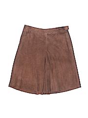 Ralph Lauren Collection Women Leather Shorts Size 8